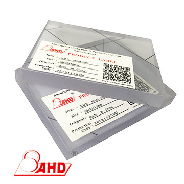New virgin Transparent  Clear Abs Plastic Sheet