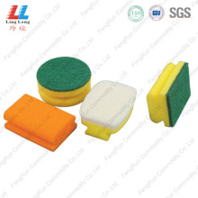 China for Sponge Scouring Pad,Sponge Kitchen Cleaning Pad,Green Sponge Scouring Pad Manufacturers and Suppliers in China Double Kitchen Cleaning Wash Foam Sponge supply to India Manufacturer