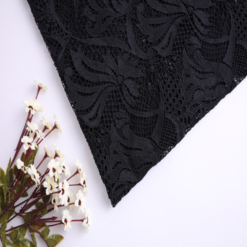 Elegant Mat Poly Milky Yarn Chemical Lace