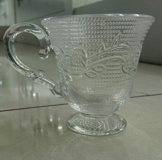 crystal coffee glass cup