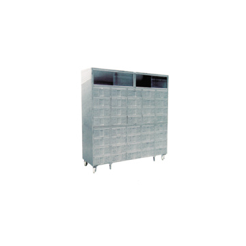 Stainless steel Chinese medicine cabinet