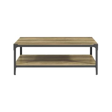 big center industrial style coffee table