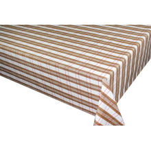 Elegant Tablecloth with Non woven backing Resistant