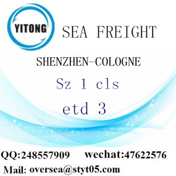 Shenzhen Port LCL Consolidation To Cologne