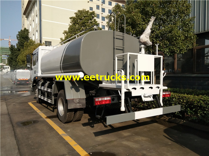 Road Water Tanker Truck