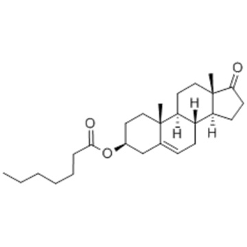Androst-5-en-17-one, 3 - [(1-oxoheptyl) oxy] -, (57251577,3b) - CAS 23983-43-9