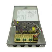60W 12V 5A 6CH CCTV Power Supply Box
