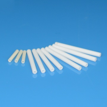 Small diameter alumina ceramic tube