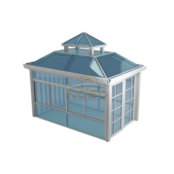 High Quality for Glass Room Winter Garden Veranda Sunroom House Aluminum Sunroom Kit export to Pitcairn Manufacturers