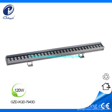 Linear rigid aluminum outdoor wall washer