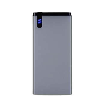 slim 10000mah power bank with led display