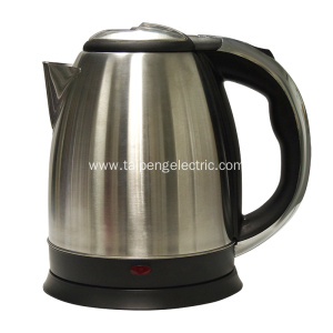 Low MOQ for Stainless Steel Electric Tea Kettle Wholesale stainless steel electric kettle supply to Spain Manufacturers