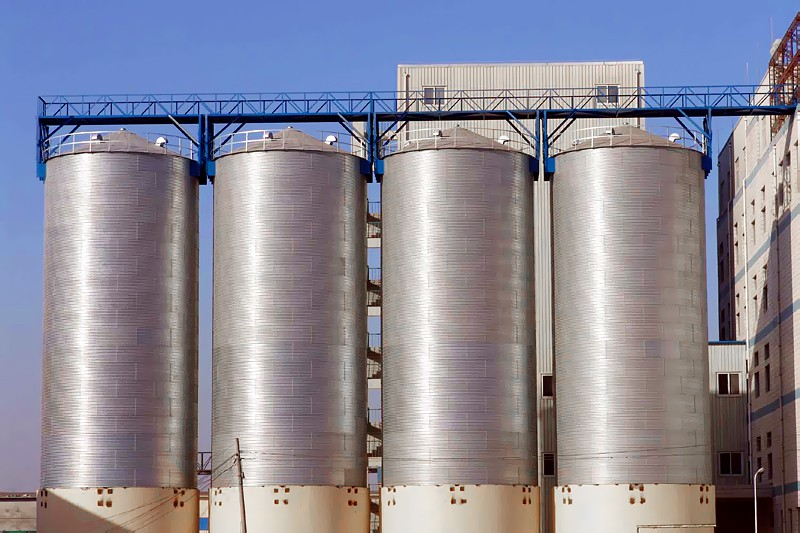 Grain Steel Silos maize storage