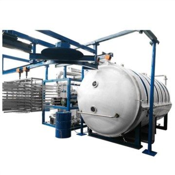 Easy operated 500kg capacity seafood freeze dryer