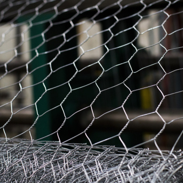 Galvanized Hexagonal Rabbit Netting