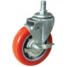 Super Purchasing for Pu Stem Caster 5inch PP/PVC Swivel Caster export to Canada Supplier