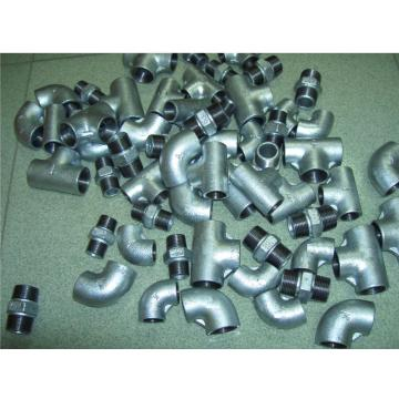 Plain Type Malleable Iron Pipe Fittings Tee