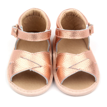 Genuine Soft Leather Kids Sandals 2018