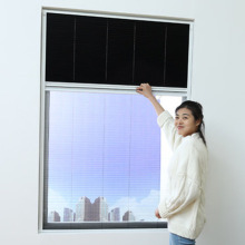 eco-friendly plissee screen roof window