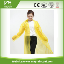 PE Disposable Raincoat with Special Hgih Quality