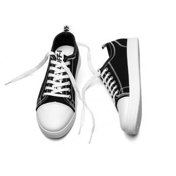 Lace Up Canvas Sneaker Shoes for Man