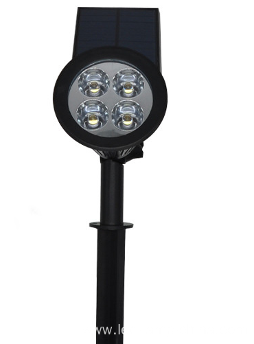 Aluminum adjustable garden light