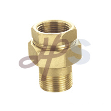 Brass MxF straight union H859A