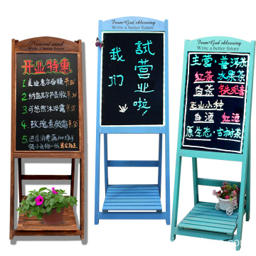Bottom price for China Chalk Boards,Chalkboard Board,Vintage Blackboard Stand Supplier Shabby Chic Wedding Indoor Room Ornament Flower Shelf with Blackboard export to Denmark Wholesale