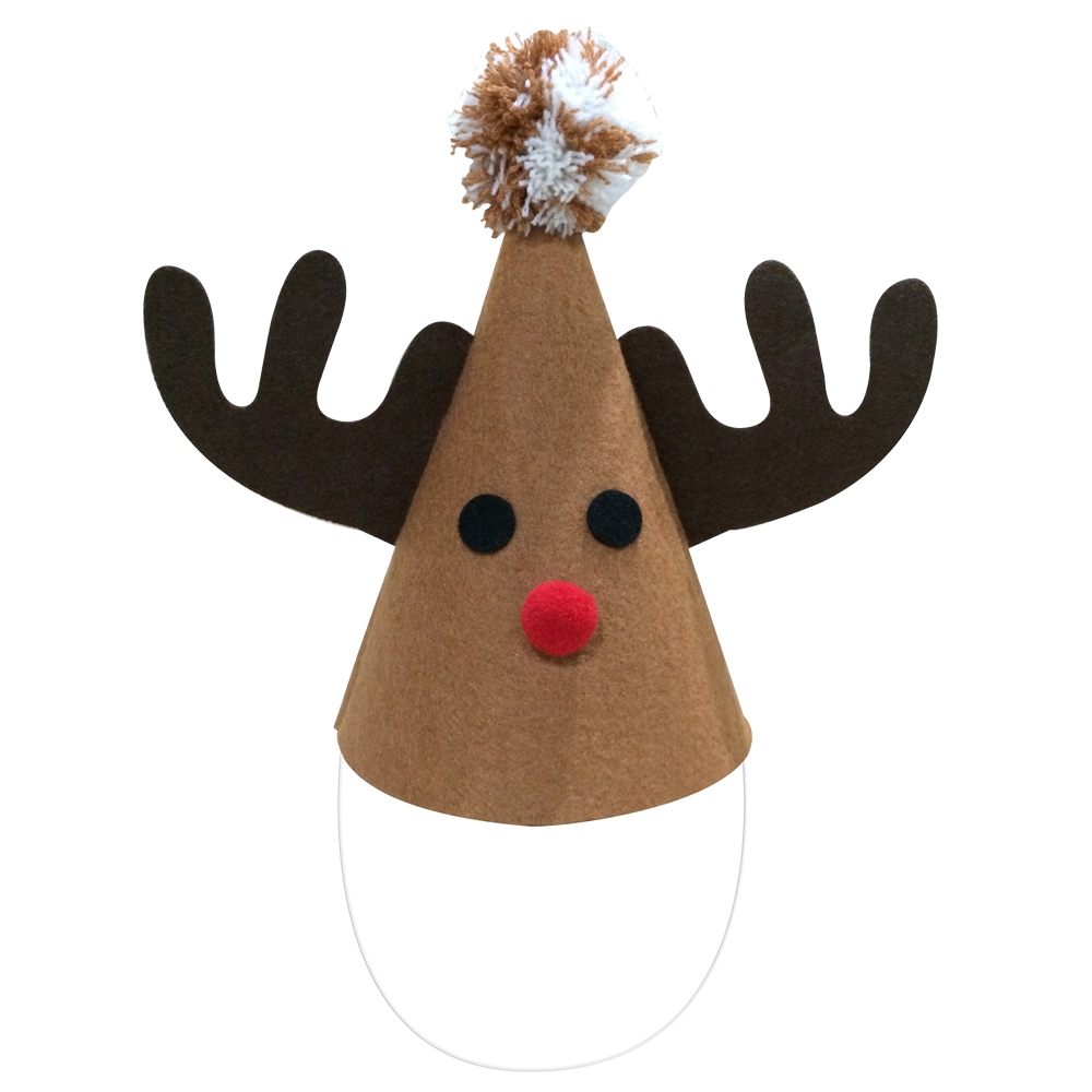 Christmas Reindeer Party Hat