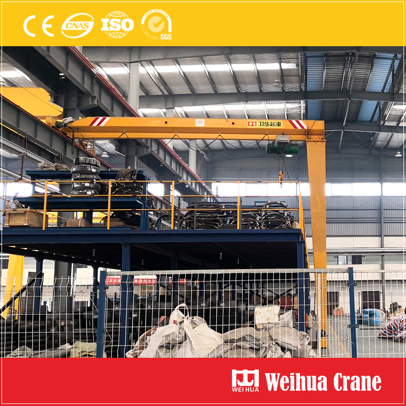 semi-gantry-crane-single-girder