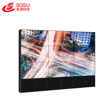 LCD DID videowall hd seamless lcd video wall