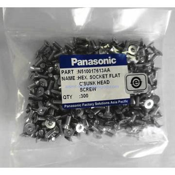 N510017613AA Panasonic HEX. SOCKET FLAT C'SUNK HEAD SCREW