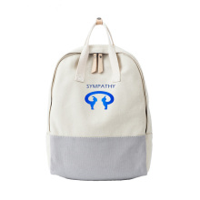 Custom female college wind backpack cotton backpack