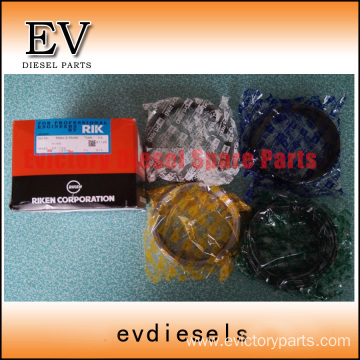 HINO engine parts piston EP100 piston ring