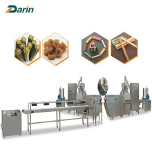 Automatic Single Screw Dog Food Extruder Multi-shape