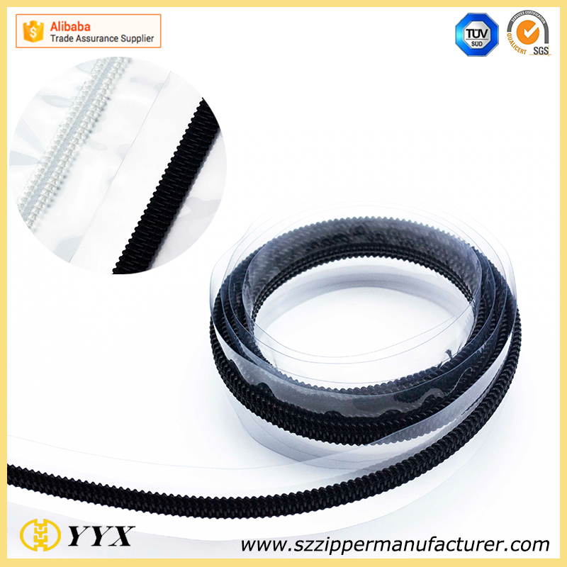 PVC nylon zipper