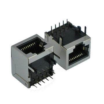 RJ45 ModularJack with shield