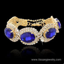 China Factories for JingLing New Style Bracelets Cheaper Lady Jewelry Rhinestone And Copper Materials Fashion Women Bracelets Silver And Gold Fashion jingling 18K gold plated bracelets supply to Barbados Factory
