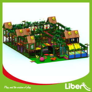 China New Product for Forest Themed Indoor Playground Equipment Safe indoor amusement playground export to El Salvador Manufacturer