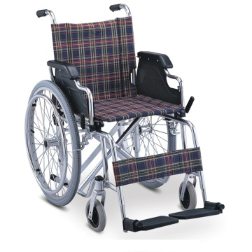 Medical Foldable Lightweight Manual Aluminum Wheelchair