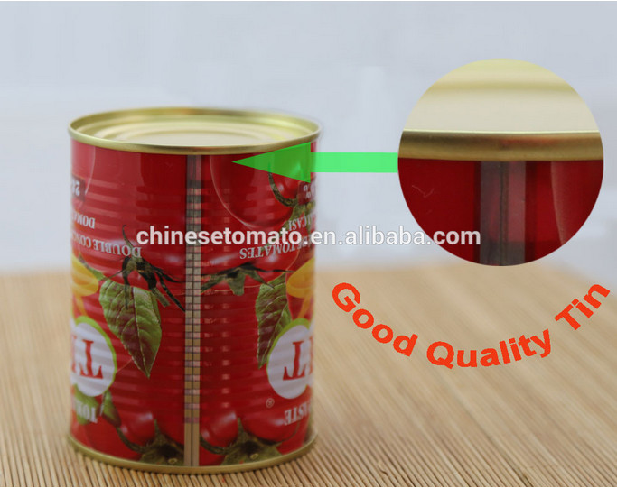 GINNY Brand Canned Tomato Paste