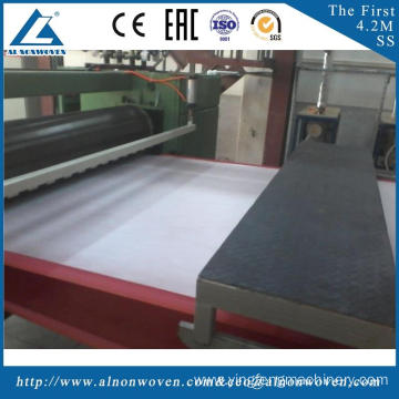 High efficiency AL-1600 S 1600mm non woven fabric making machine with low price