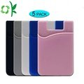 3M Silicone Card Holder Cell Phone Card Wallet