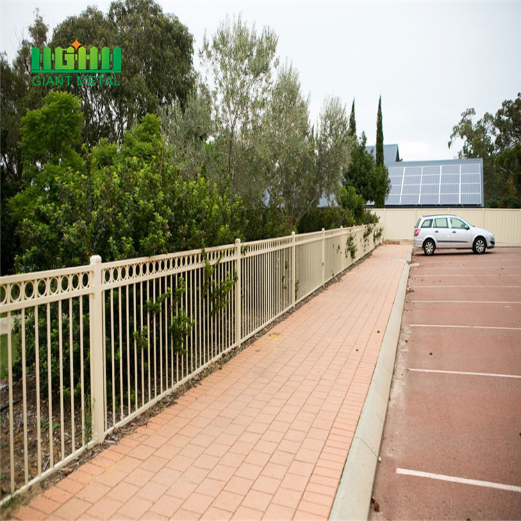 Stainless steel security fence