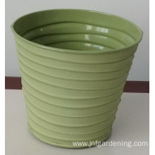 Plant potted craft iron bucket