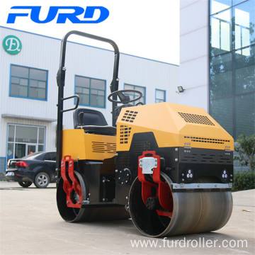 1000kg Hydraulic Mini Vibratory Road Roller Machine