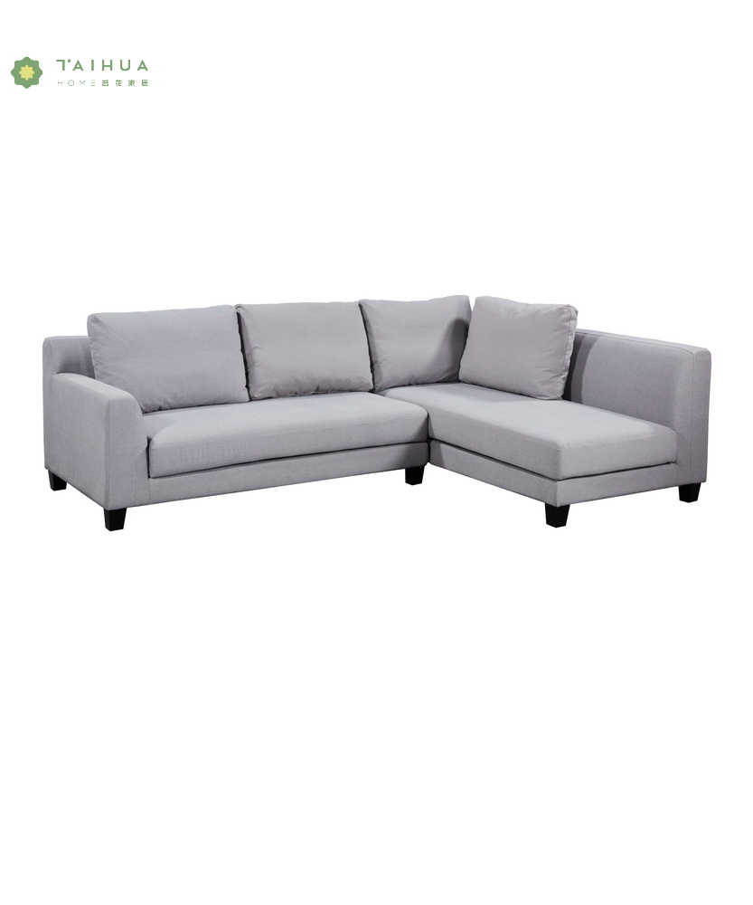 Light Grey Corner Sofa