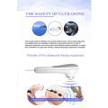Body pain reduction ultrasound shock wave therapy machine