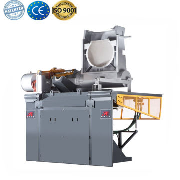 IF intermediate frequency induction scrap iron melting pot