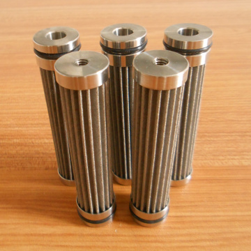 Stainless Steel Sintered Fiber Felt Oil Filter For Train